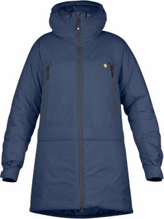 fjellreven bergtagen insulation parka dame - mountain blue