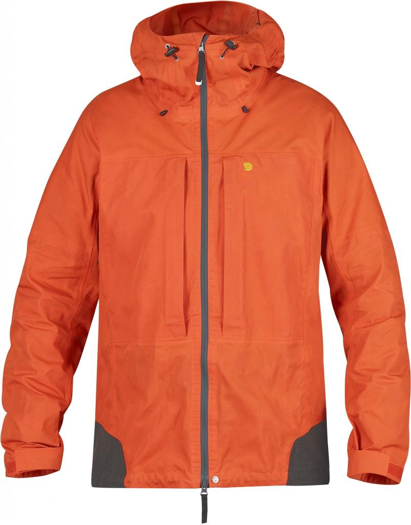 fjellreven bergtagen jakke - hokkaido orange
