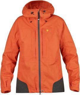 fjellreven bergtagen jakke dame - hokkaido orange