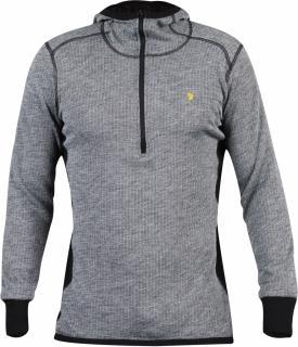 fjellreven bergtagen woolterry hoodie - grey