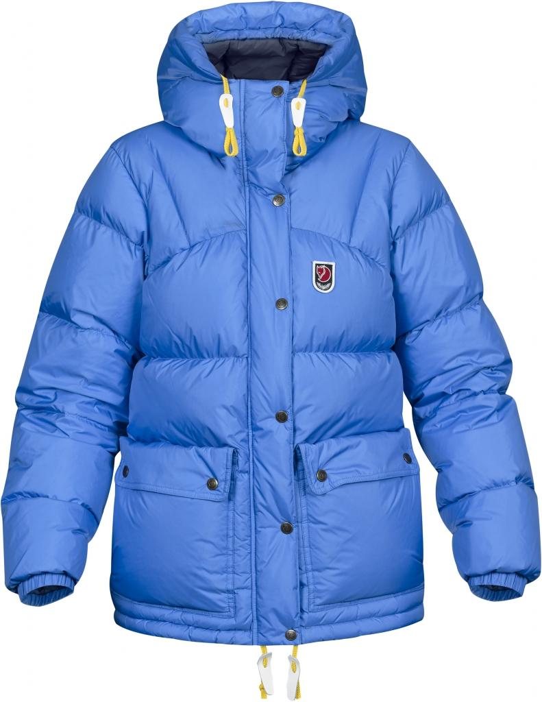 fjellreven expedition down lite jakke dame - un blue