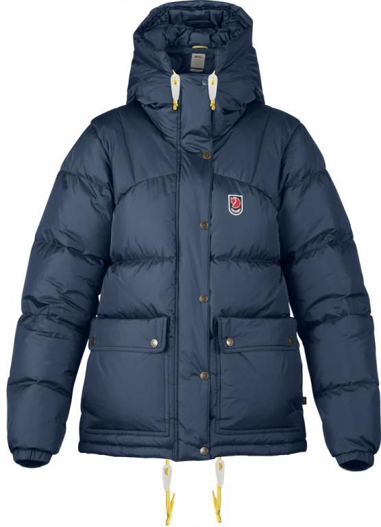 fjellreven expedition down lite jakke dame - navy