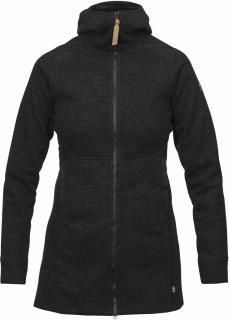 fjellreven Övik wool jakke dame - black