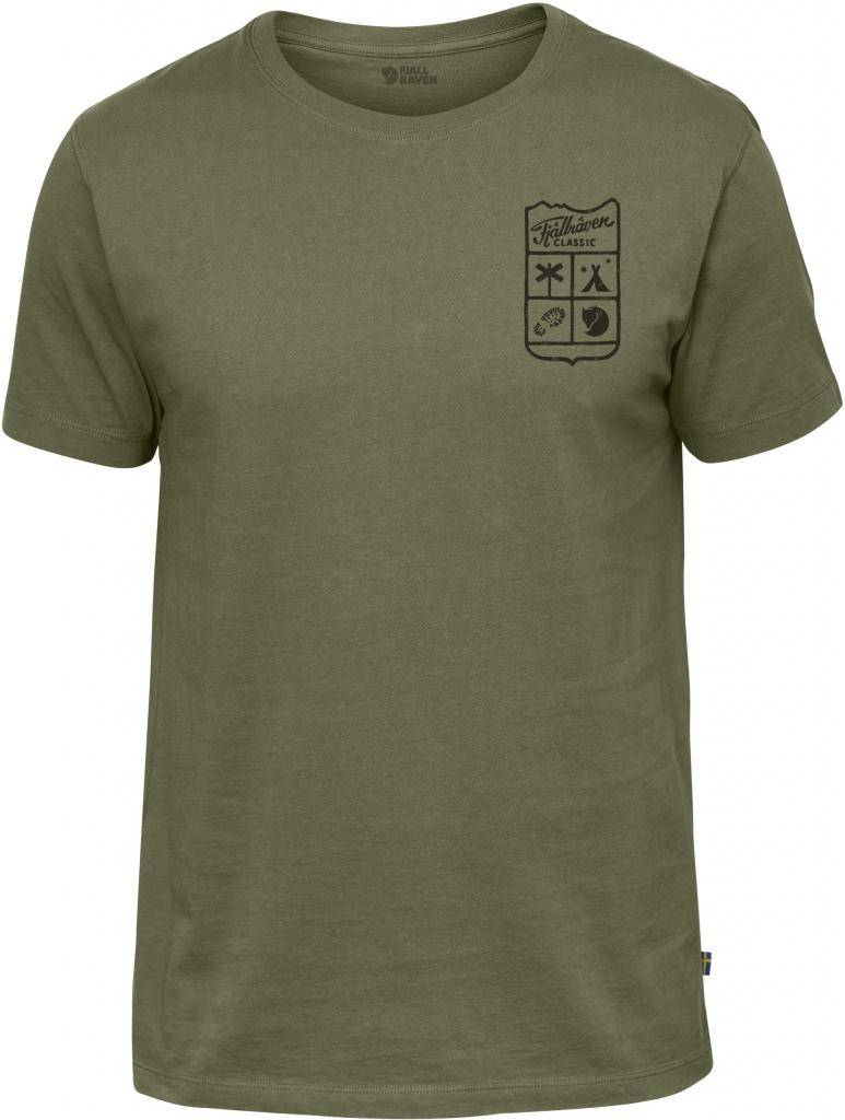 fjellreven fjällräven classic t-shirt - green