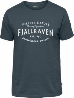 fjellreven fjällräven est. 1960 t-shirt herre - dusk