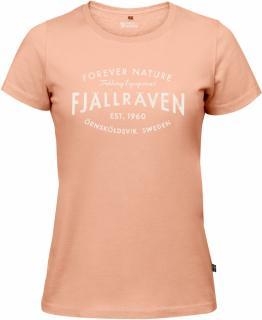 fjellreven fjällräven est. 1960 t-shirt dame - lily
