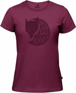 fjellreven forever nature t-shirt dame - plum