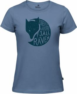 fjellreven forever nature t-shirt dame - blue ridge