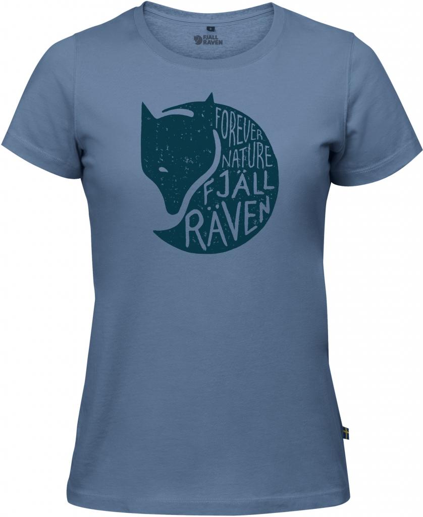 fjellreven forever nature t-shirt dame - blue ridge