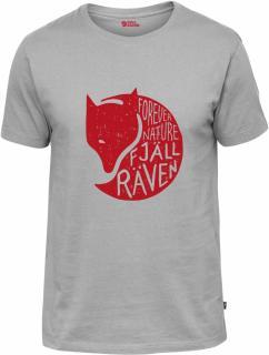 fjellreven forever nature t-shirt herre - grey