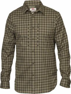 fjellreven lappland flannel shirt ls herre - olive