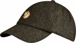 fjellreven Övik wool cap - dark olive