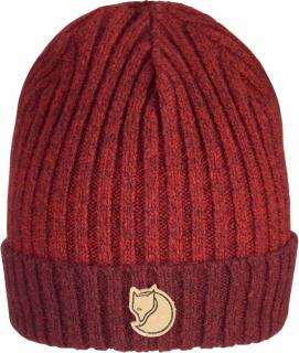 fjellreven two-tone rib hat - dark garnet