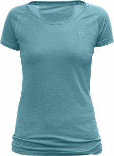 fjellreven abisko trail t-shirt dame - lagoon