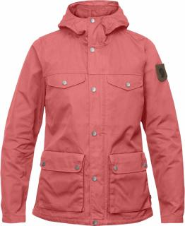 fjellreven greenland jakke dame - peach pink