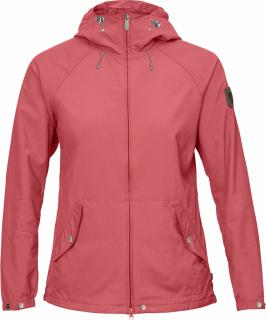 fjellreven greenland wind jacket dame - peach pink