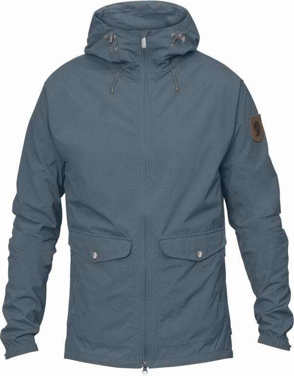 fjellreven greenland wind jacket herre - dusk