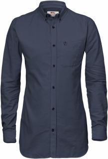 fjellreven high coast flannel shirt ls dame - night sky