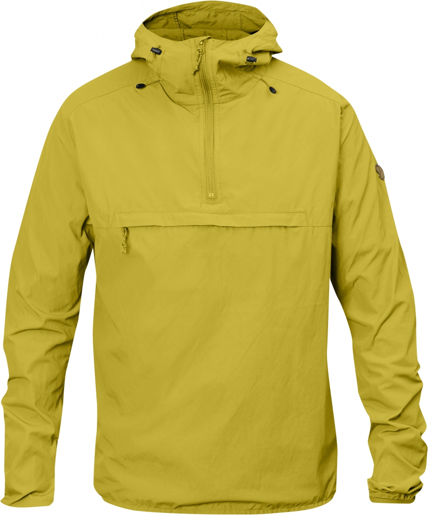 fjellreven high coast wind anorak - birch green