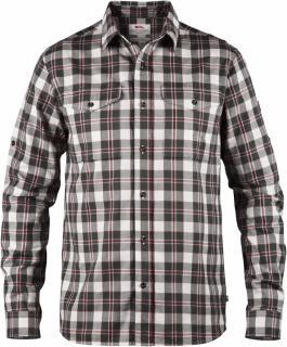 fjellreven singi flannel shirt ls - dusk