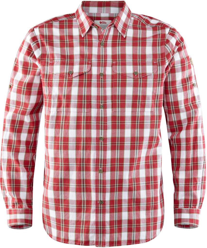 fjellreven singi flannel shirt ls - lava