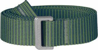 fjellreven striped webbing belt dame - fern - frost green