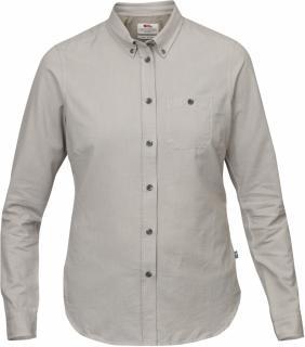 fjellreven Övik foxford shirt ls dame - fog
