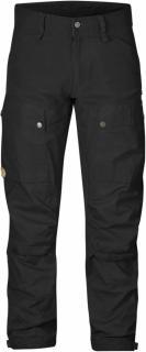fjellreven keb bukse long - black - black