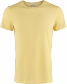 fjellreven abisko shade t-shirt ss herre - dandelion