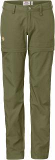 fjellreven abisko shade zip-off trousers dame - limestone