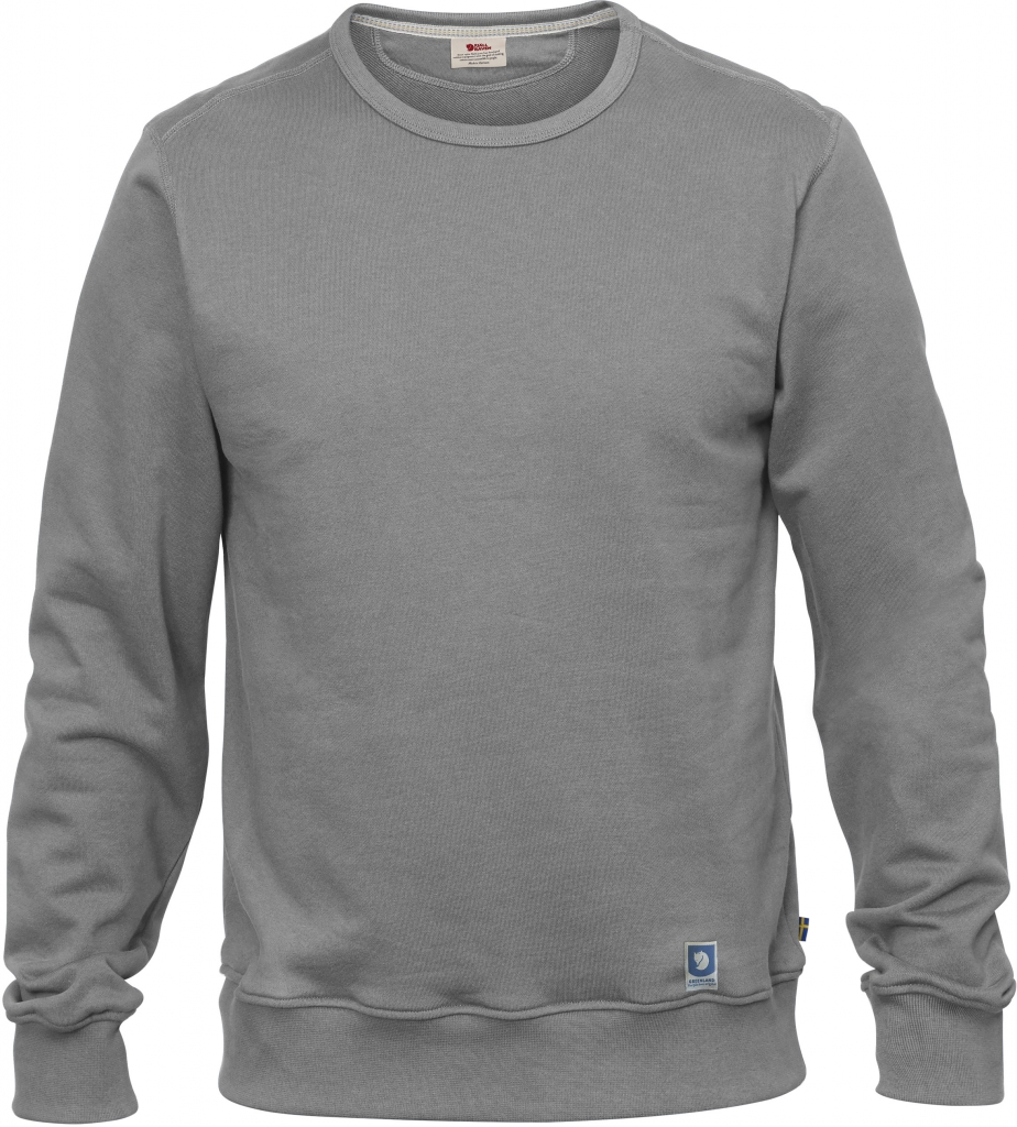 fjellreven greenland sweatshirt herre - grey