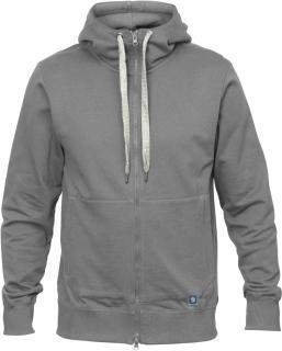 fjellreven greenland zip hoodie herre - grey