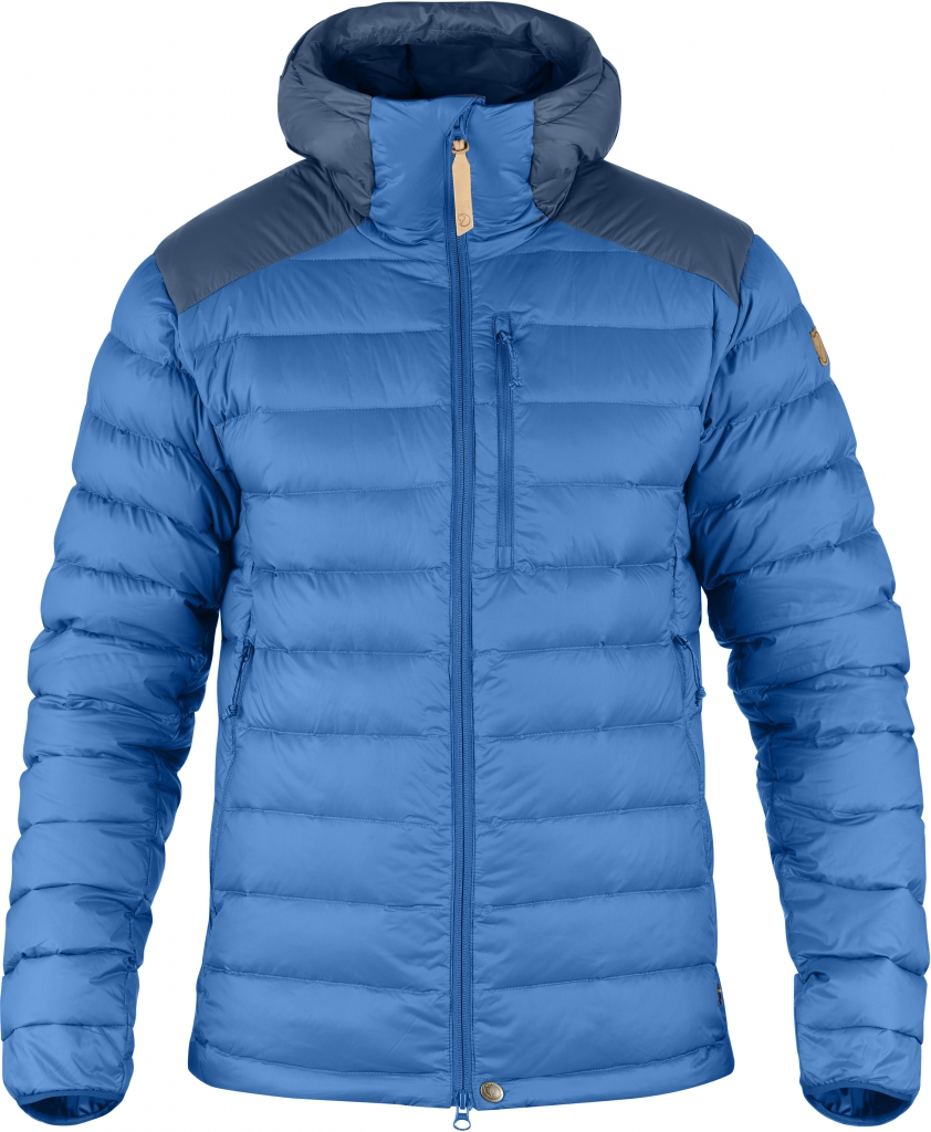 fjellreven keb touring down jacket - un blue - uncle blue