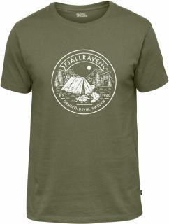 fjellreven lägerplats t-shirt herre - green