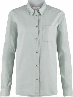 fjellreven Övik chambray shirt ls dame - ocean mist