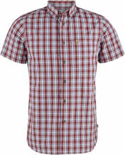 fjellreven Övik shirt ss herre - deep red