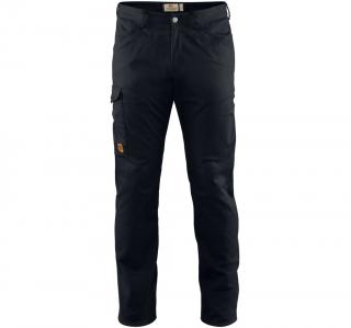 fjellreven greenland stretch trousers regular herre - black