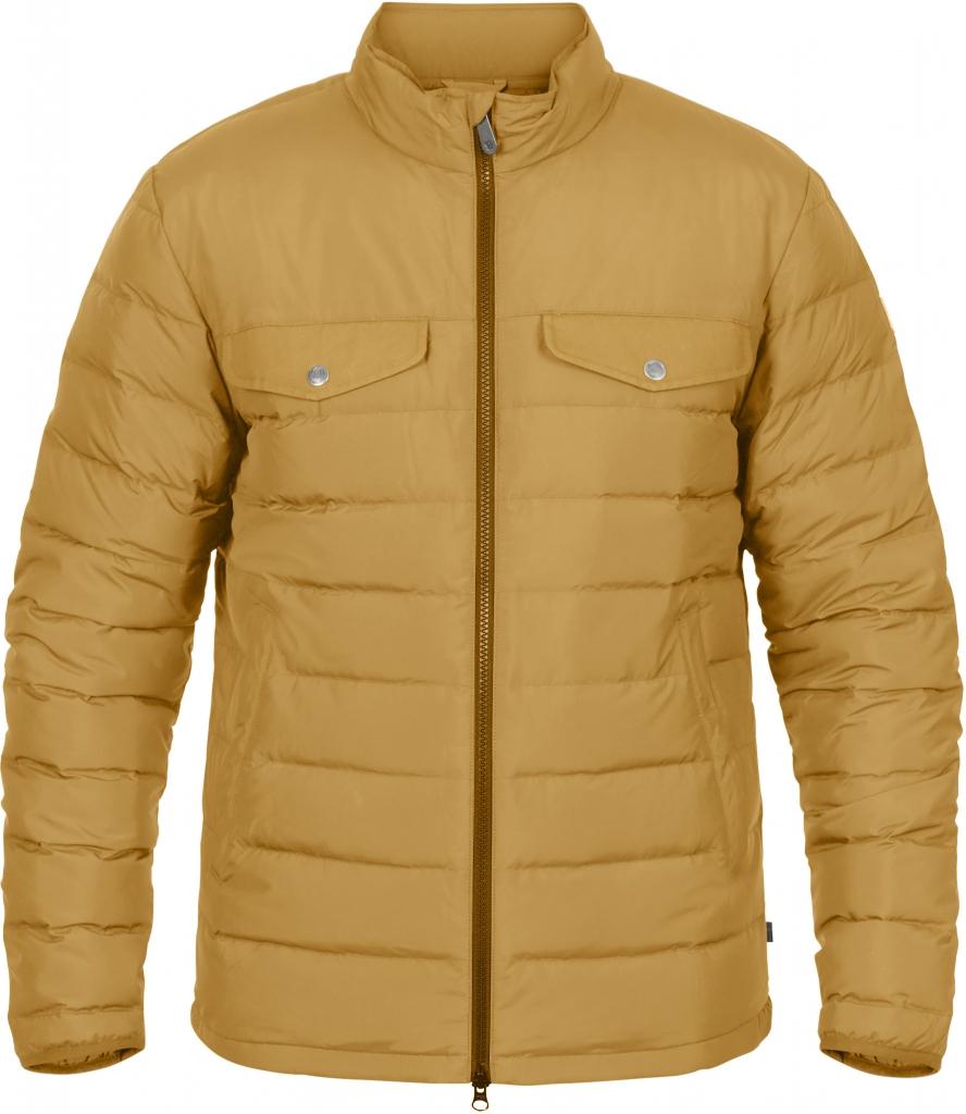 fjellreven greenland down liner jacket herre - acorn