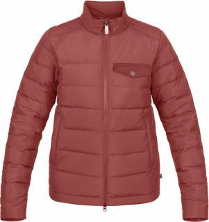 fjellreven greenland down liner jacket dame - dahlia
