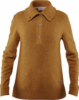 fjellreven greenland re-wool sweater dame - acorn