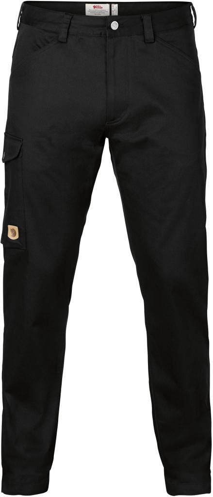 fjellreven greenland stretch trousers regular herre - black