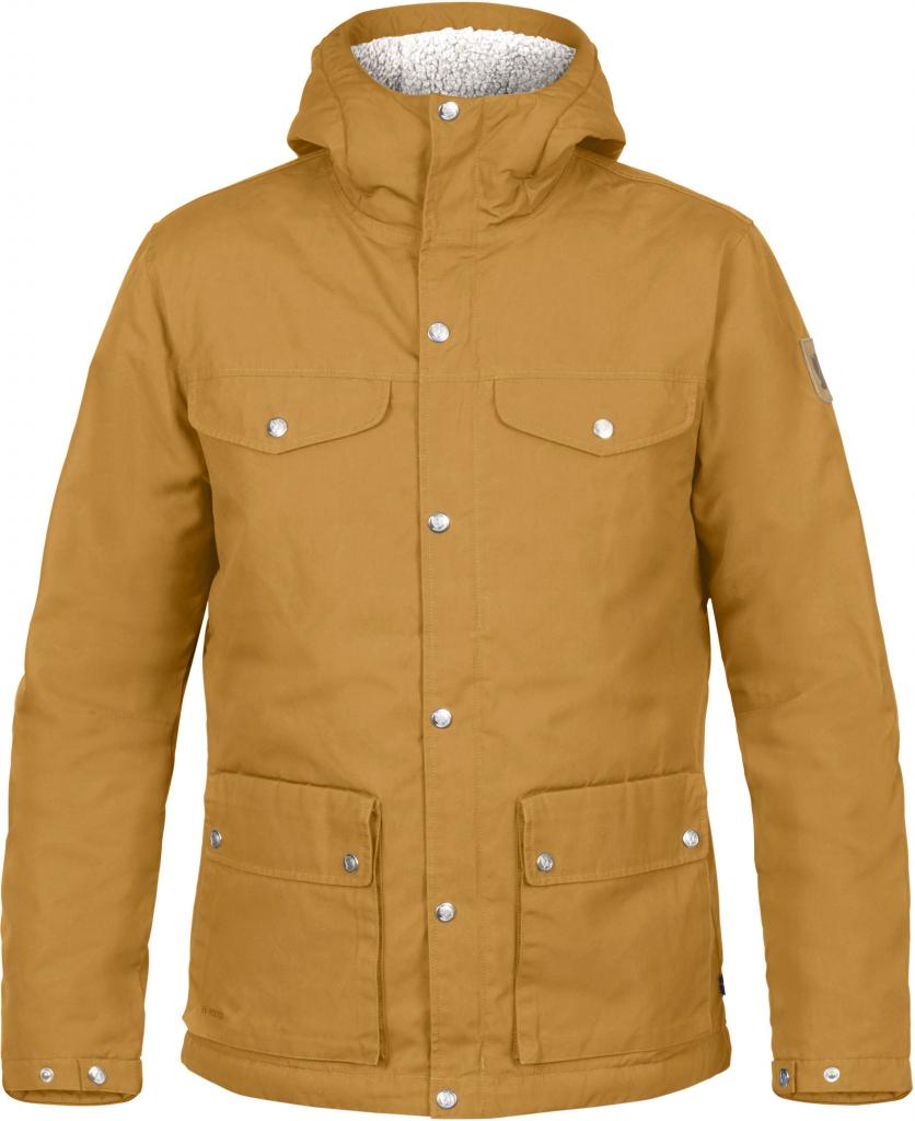 fjellreven greenland winter jacket herre - acorn