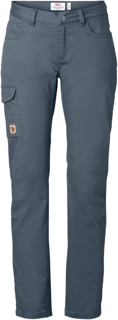 fjellreven greenland stretch trousers regular dame - dusk