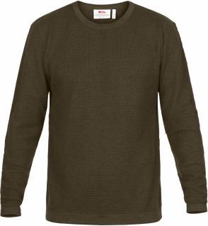 fjellreven high coast merino sweater herre - khaki