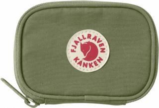 fjellreven kånken card wallet - green