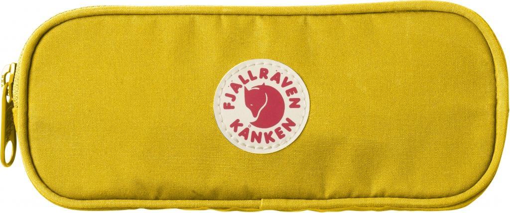 fjellreven kånken pennal - warm yellow