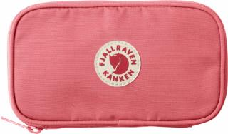 fjellreven kånken travel wallet - peach pink
