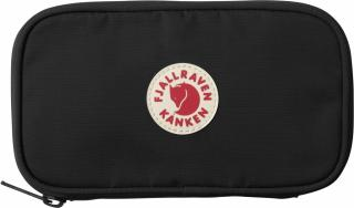 fjellreven kånken travel wallet - black