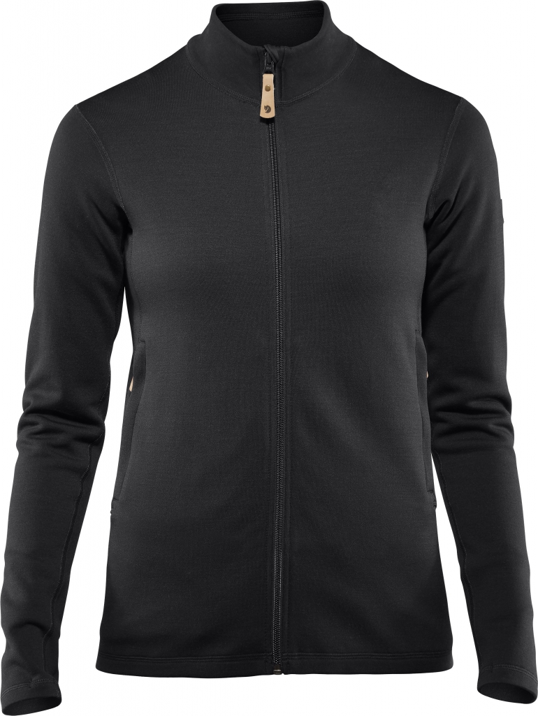 fjellreven keb wool sweater dame - black
