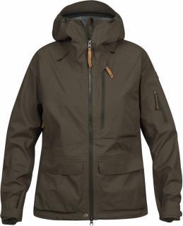 fjellreven lappland eco-shell jacket dame - dark olive